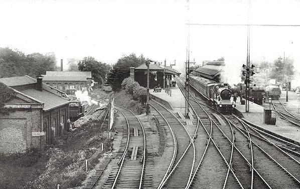 LB/&SCR. 10 Balcombe Railway Station Photo Haywards Heath Three Bridges
