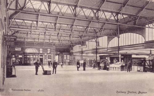 LB/&SCR. Barnham Line Bognor Regis Railway Station Photo 19