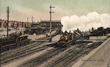 Cosham Portsmouth and Gosport Lines. 12 Fratton Railway Station Photo